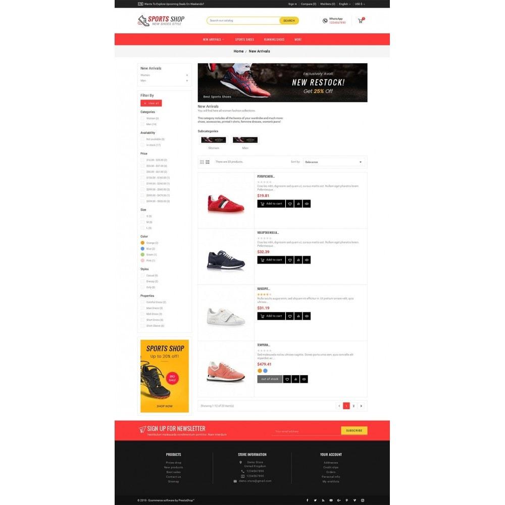 theme - Sport, Rozrywka & Podróże - Sport Shoes & Footwear - 4