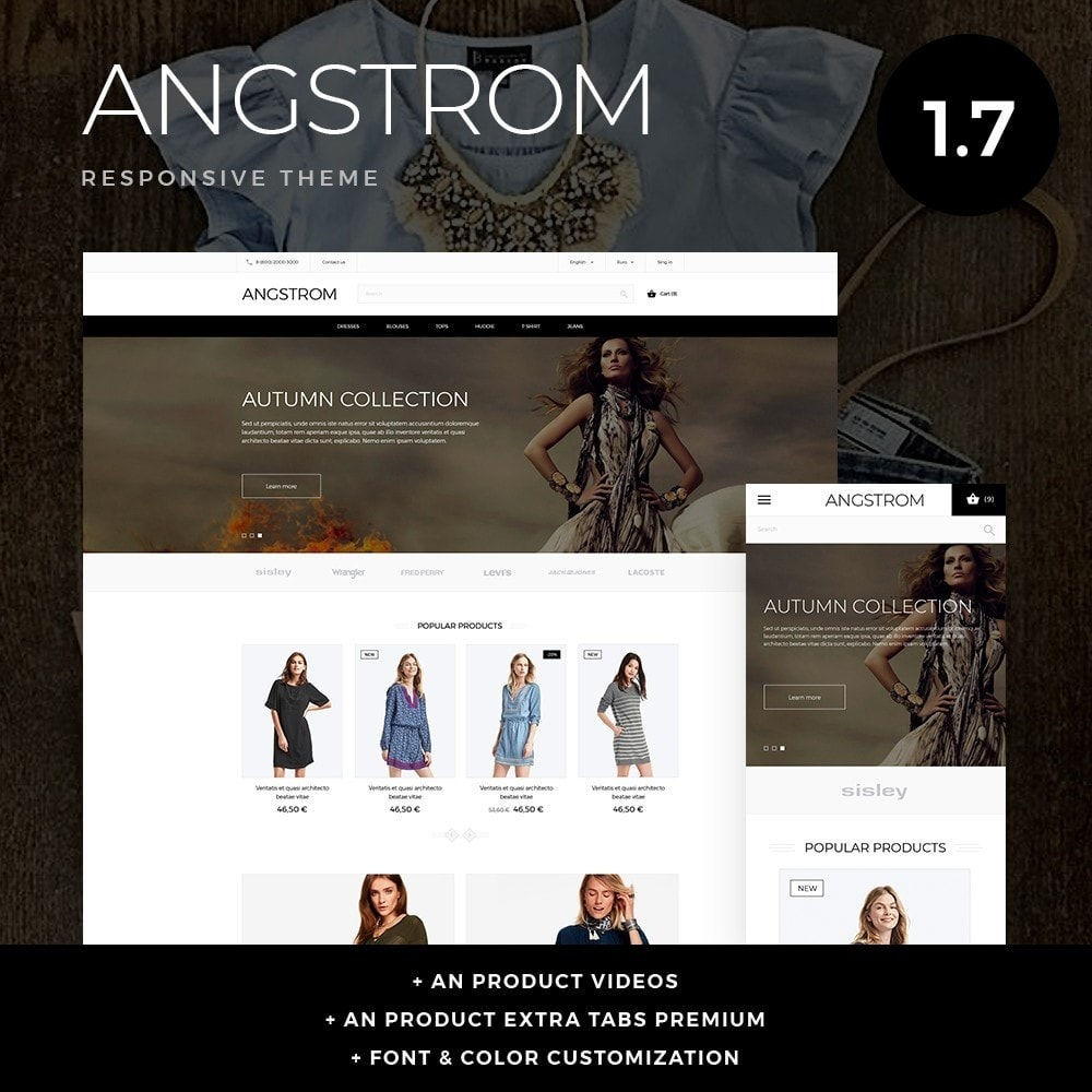 theme - Mode & Schuhe - Angstrom Fashion Store - 1