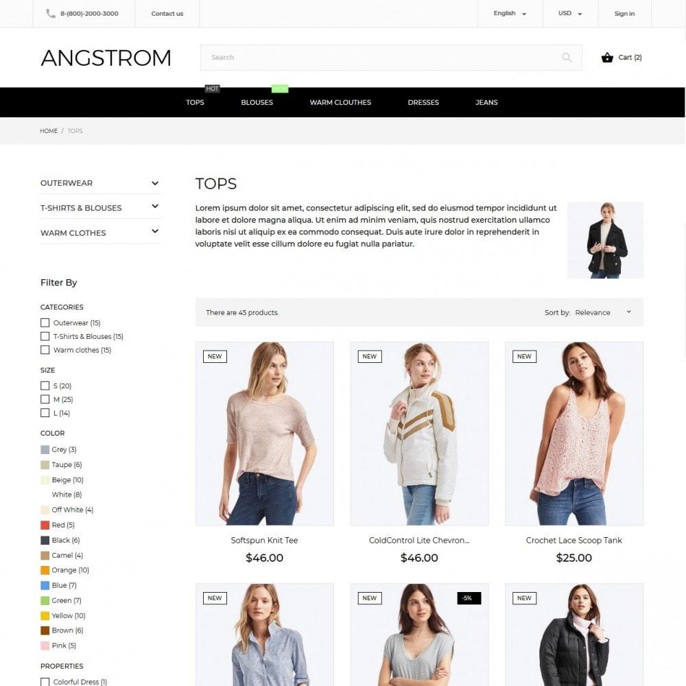 theme - Мода и обувь - Angstrom Fashion Store - 6