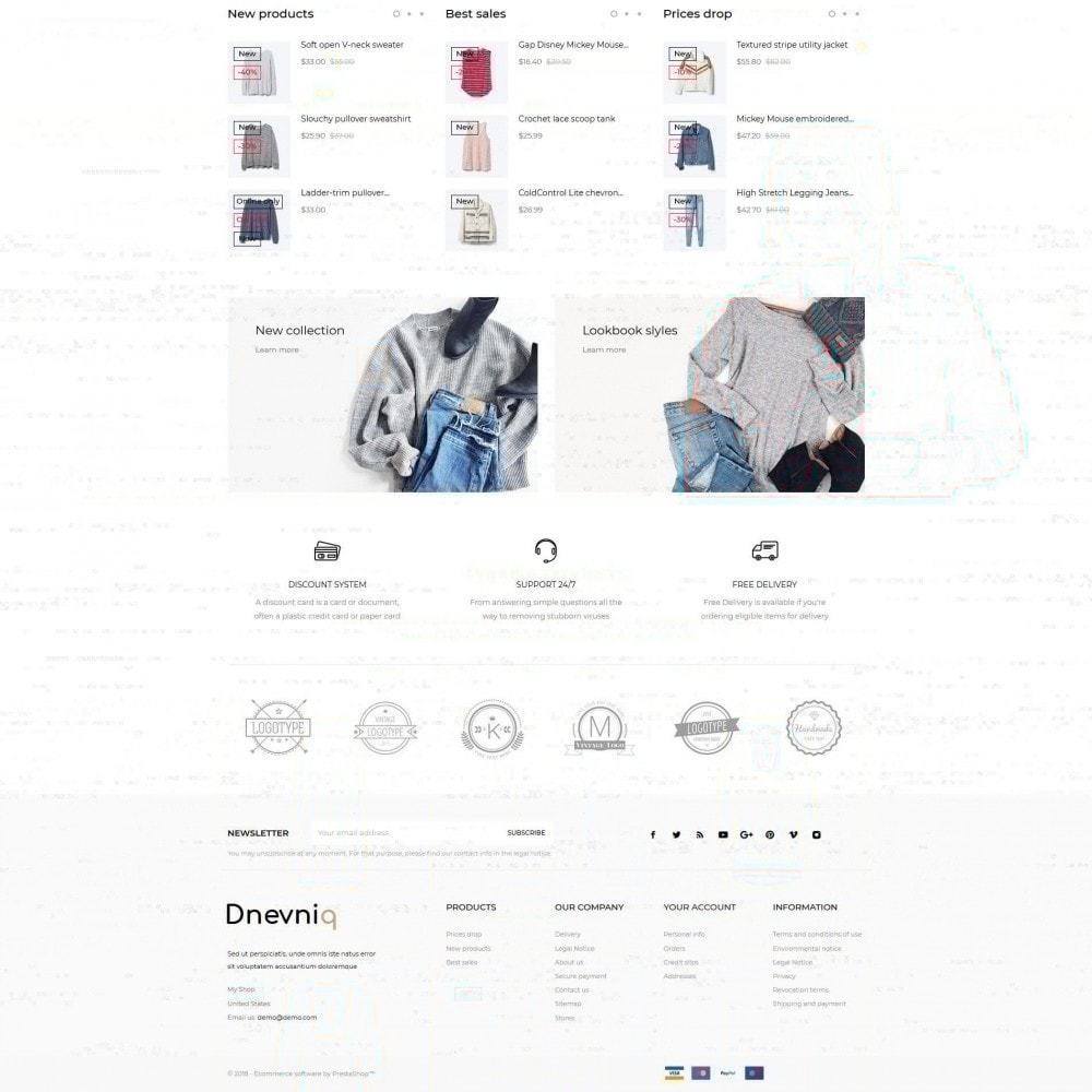 theme - Mode & Schoenen - Dnevniq Fashion Store - 3