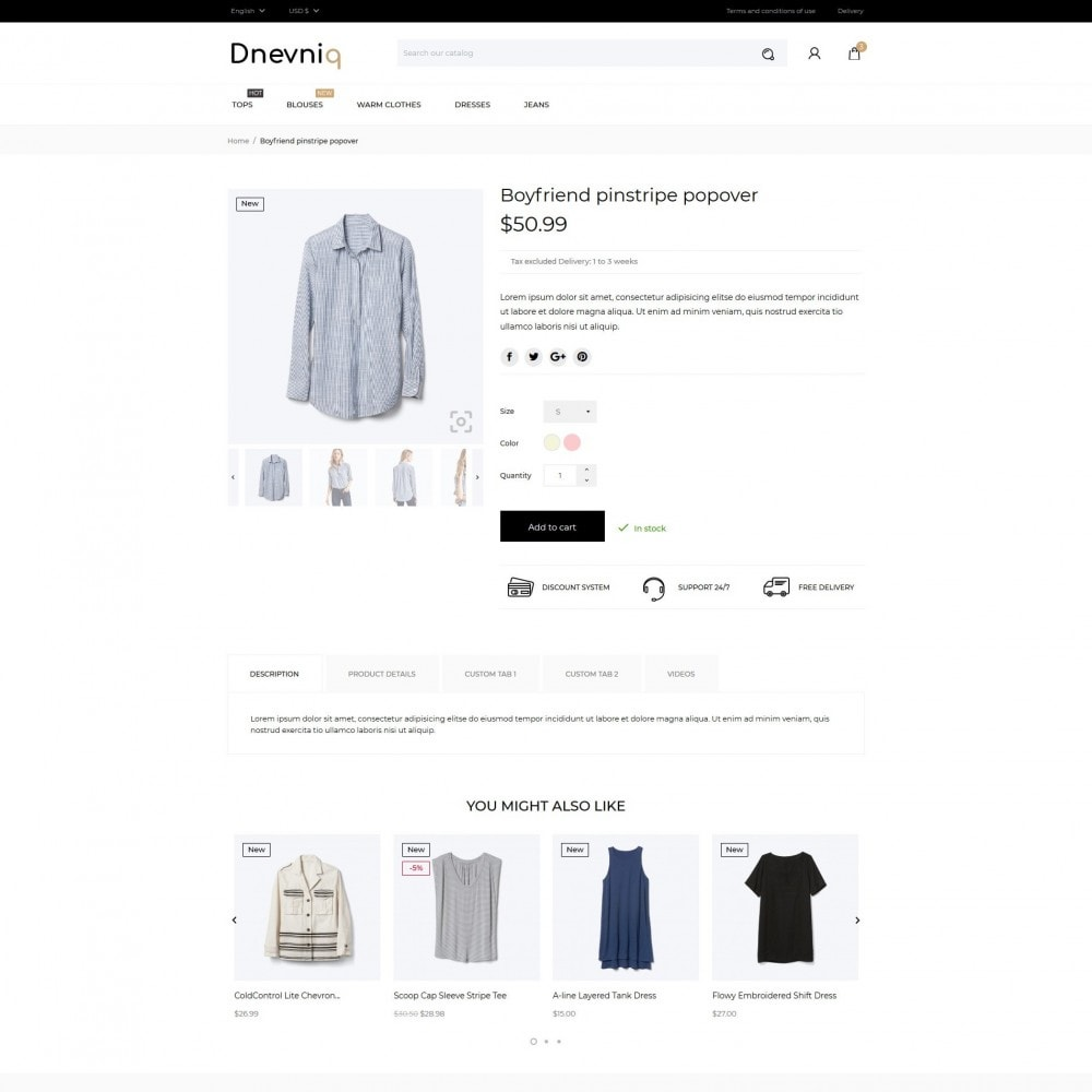 theme - Mode & Schoenen - Dnevniq Fashion Store - 6
