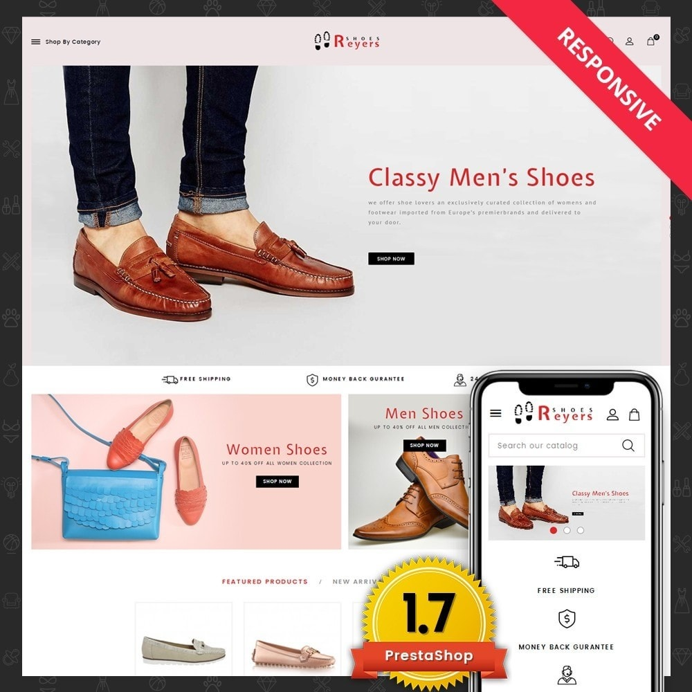 theme - Fashion & Shoes - Reyers Shoes Store - 1