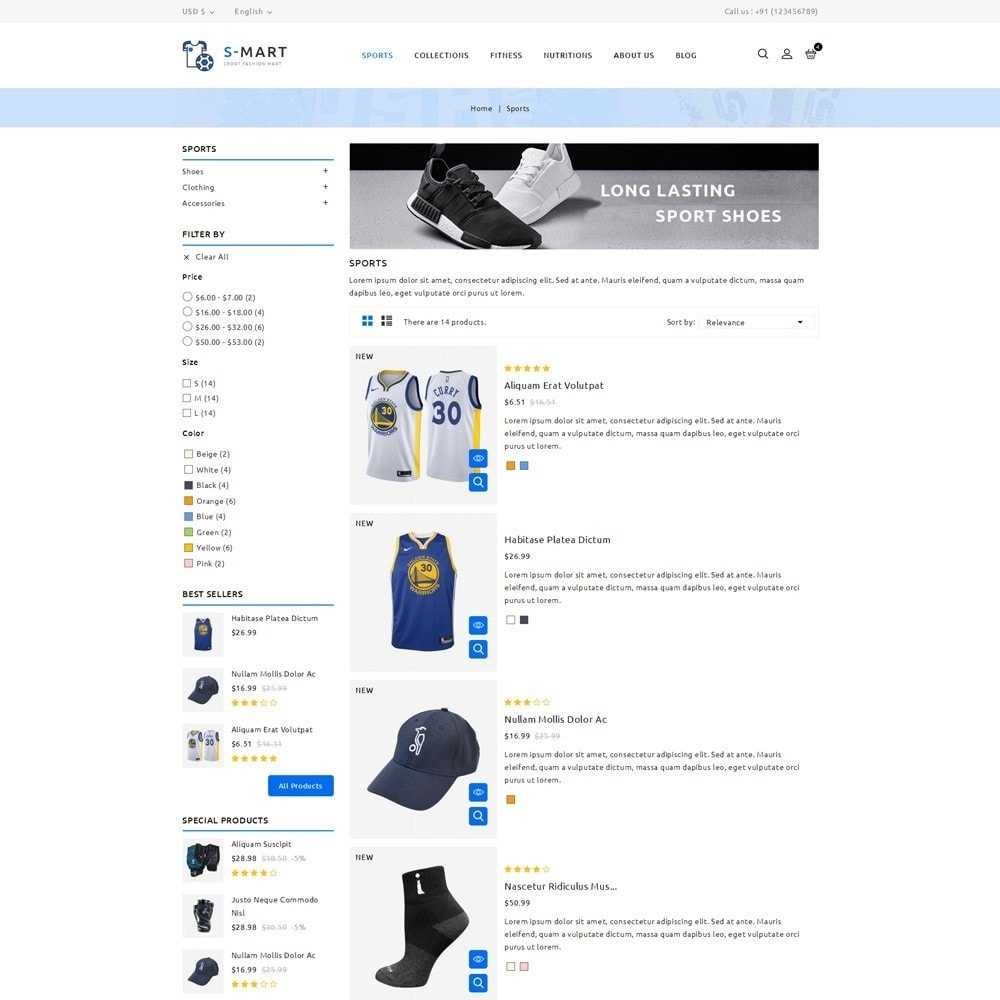 theme - Moda & Obuwie - Shop Mart Sports Fashion - 4