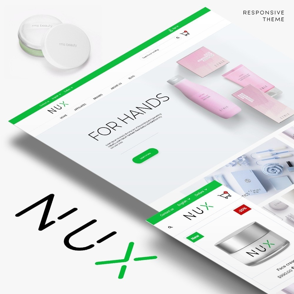 theme - Health & Beauty - Nux Cosmetics - 1