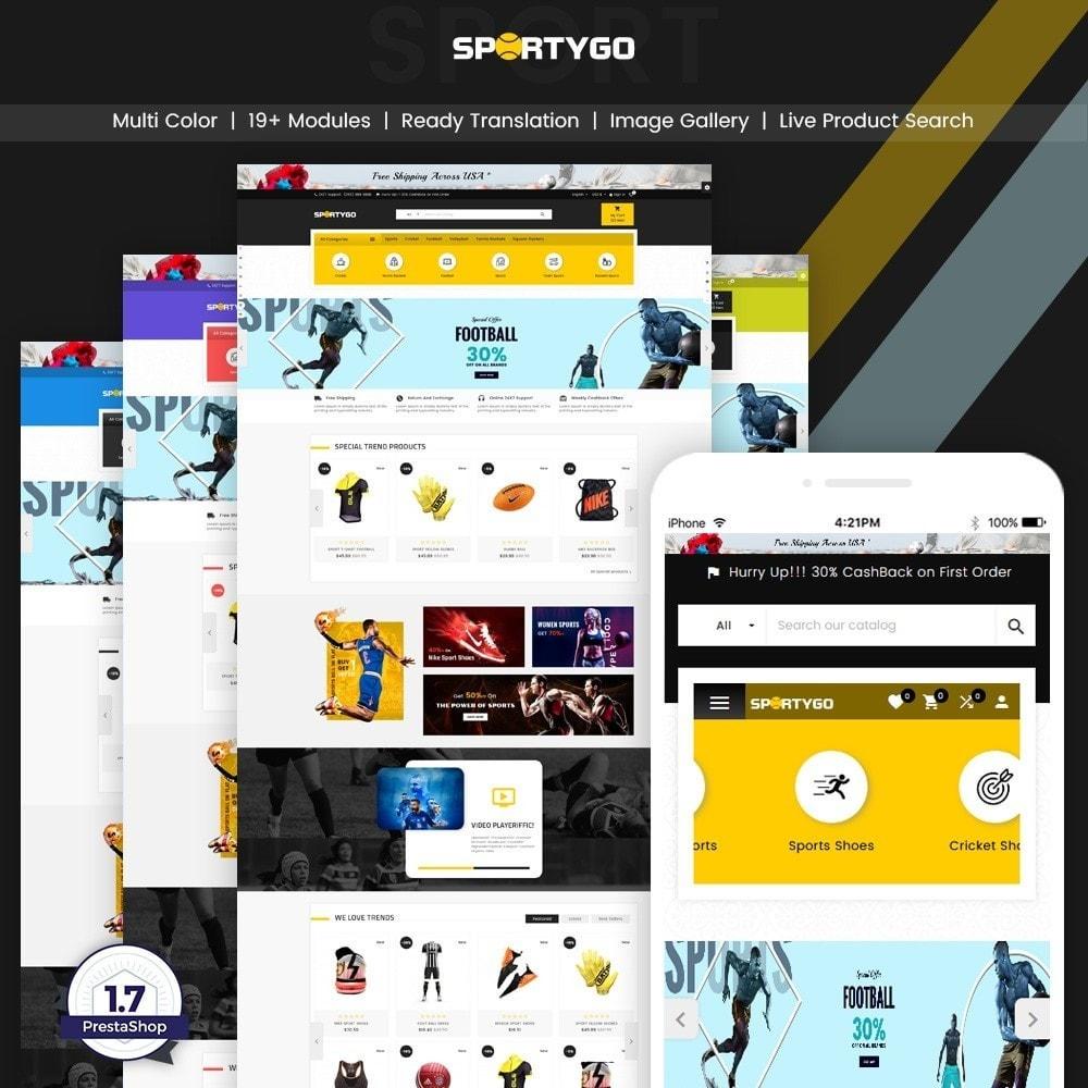 theme - Sport, Attività & Viaggi - SportyGo– Sport Super Store - 1