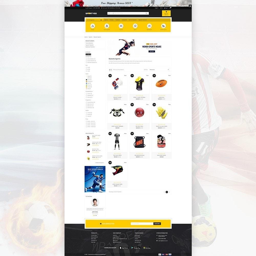 theme - Sport, Activiteiten & Reizen - SportyGo– Sport Super Store - 3