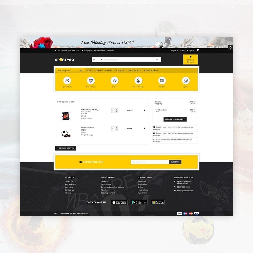 theme - Sport, Aktivitäten & Reise - SportyGo– Sport Super Store - 5