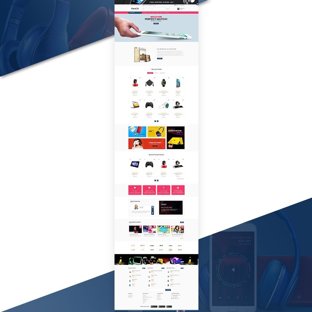 theme - Elektronik & High Tech - eleveza– Electronices Super Store v2 - 2