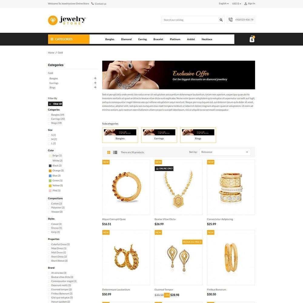 theme - Jewelry & Accessories - Jewelrystone - Jewelry Online Store - 3