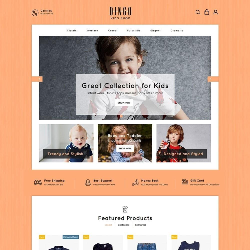 theme - Kids & Toys - Dingo - Kidswear Online Store - 2