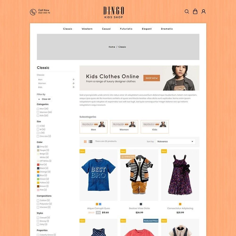 theme - Kids & Toys - Dingo - Kidswear Online Store - 3