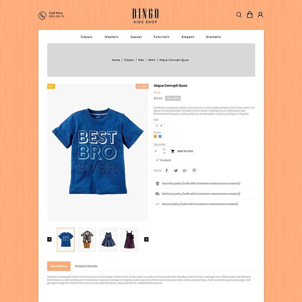 theme - Crianças & Brinquedos - Dingo - Kidswear Online Store - 5
