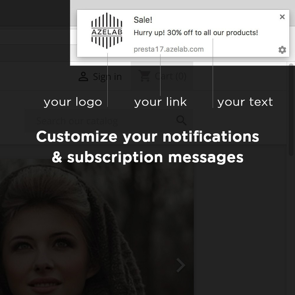 module - Email & Notifiche - Onesignal Web Push Notifications - 3