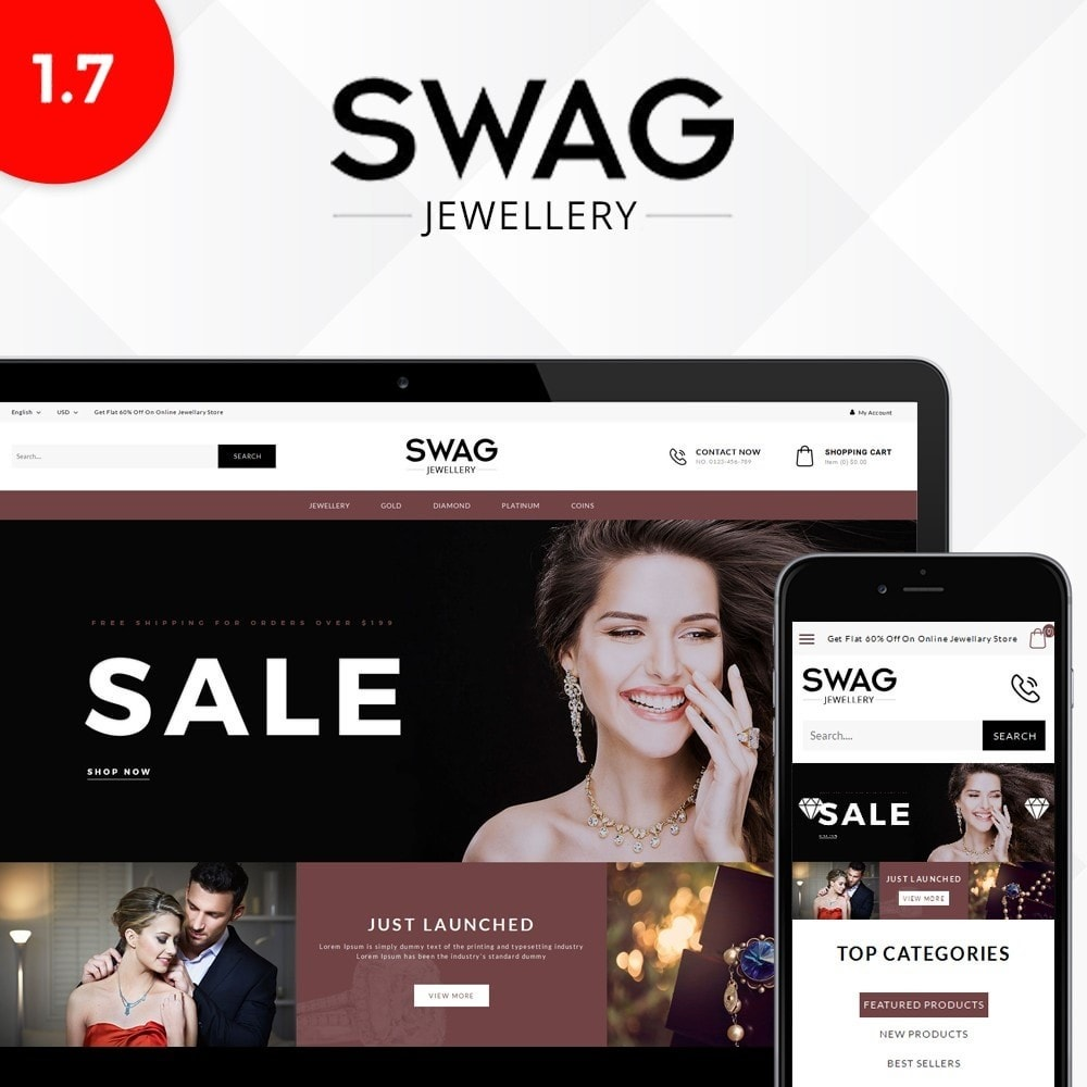 theme - Bellezza & Gioielli - SWAG Jewellery Store - 1