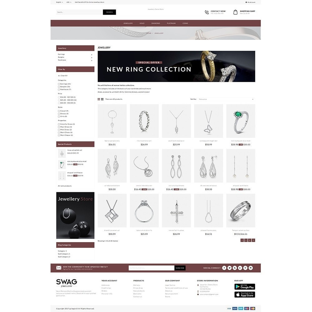 theme - Jewelry & Accessories - SWAG Jewellery Store - 3