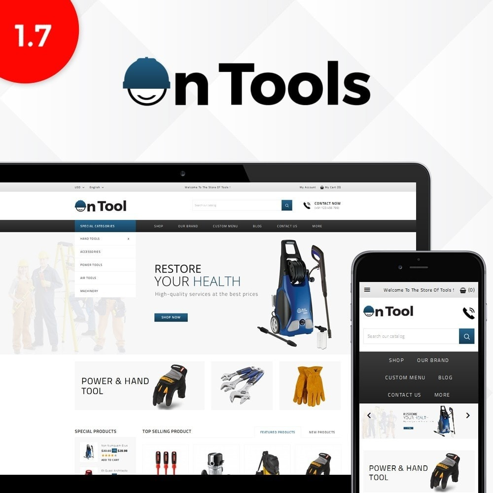 theme - Coches y Motos - OnTool Store - 1