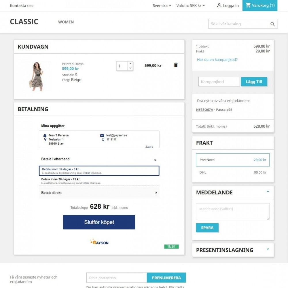 module - Szybki proces składania zamówienia - Payson Checkout 2.0 - 3