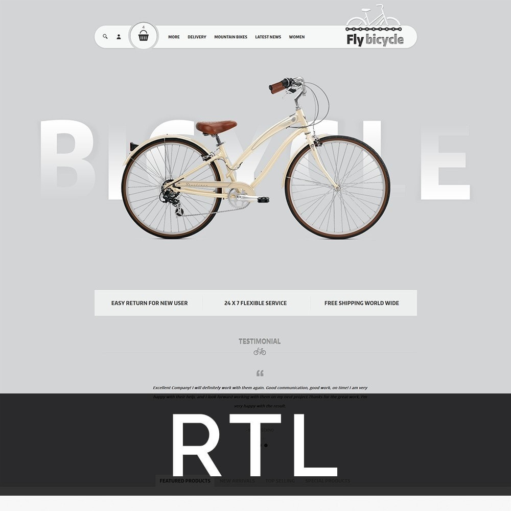 theme - Automotive & Cars - Flybicycle Store - 3