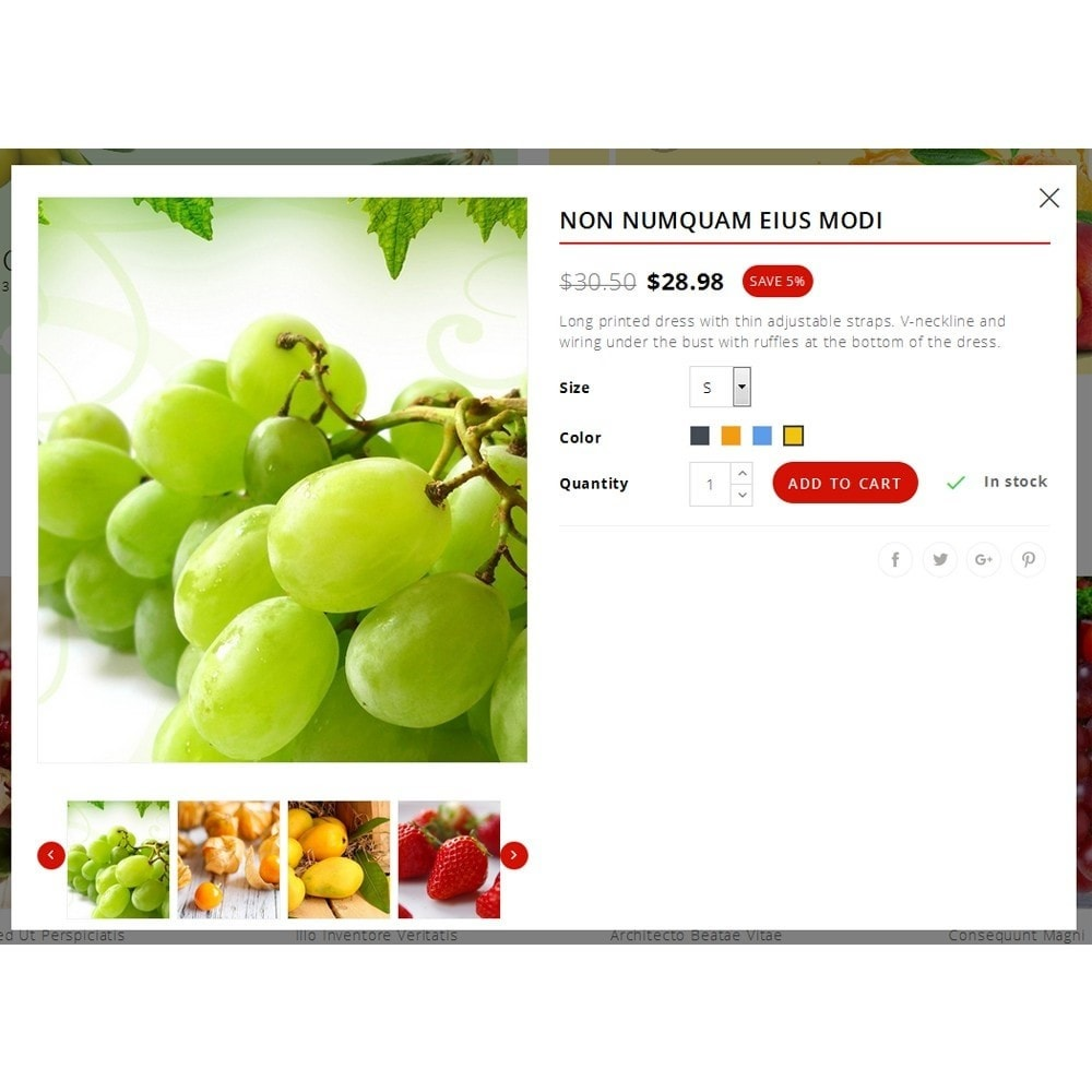 theme - Alimentation & Restauration - Fresh Fruit Store - 7