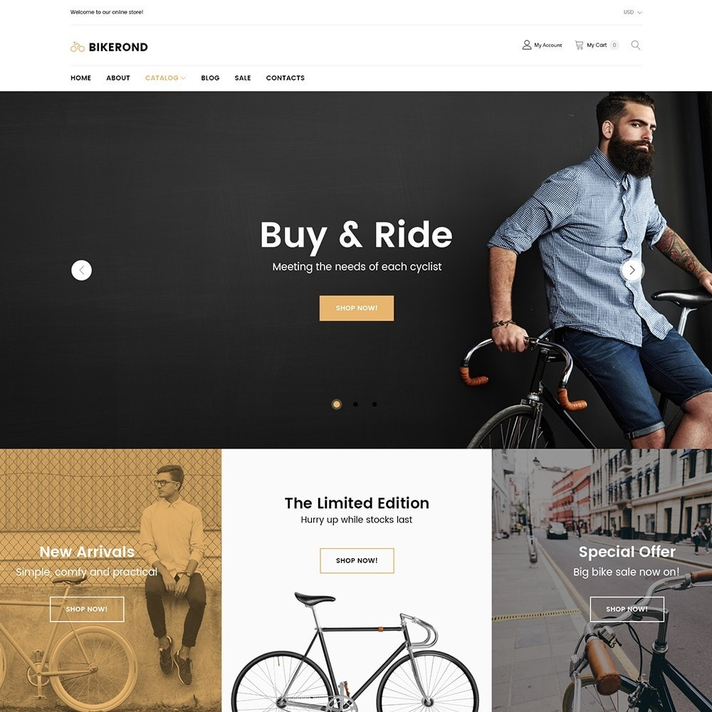 theme - Deportes, Actividades y Viajes - BikeRond - Bike Shop - 2