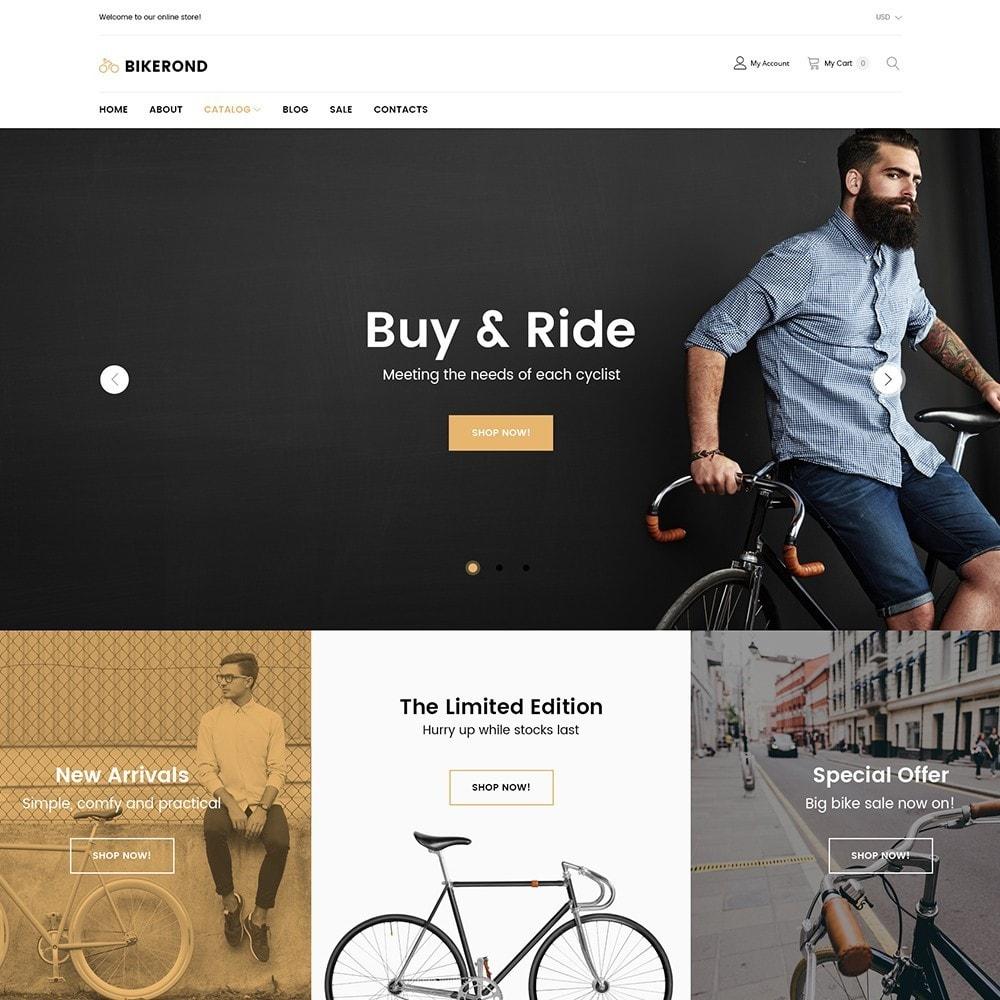 theme - Sport, Loisirs & Voyage - BikeRond - Bike Shop - 2