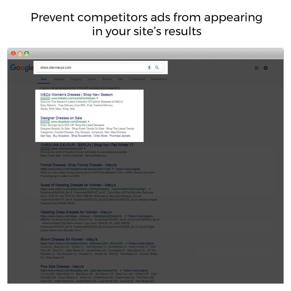 module - SEO (référencement naturel) - Google Sitelink Searchbox - 3