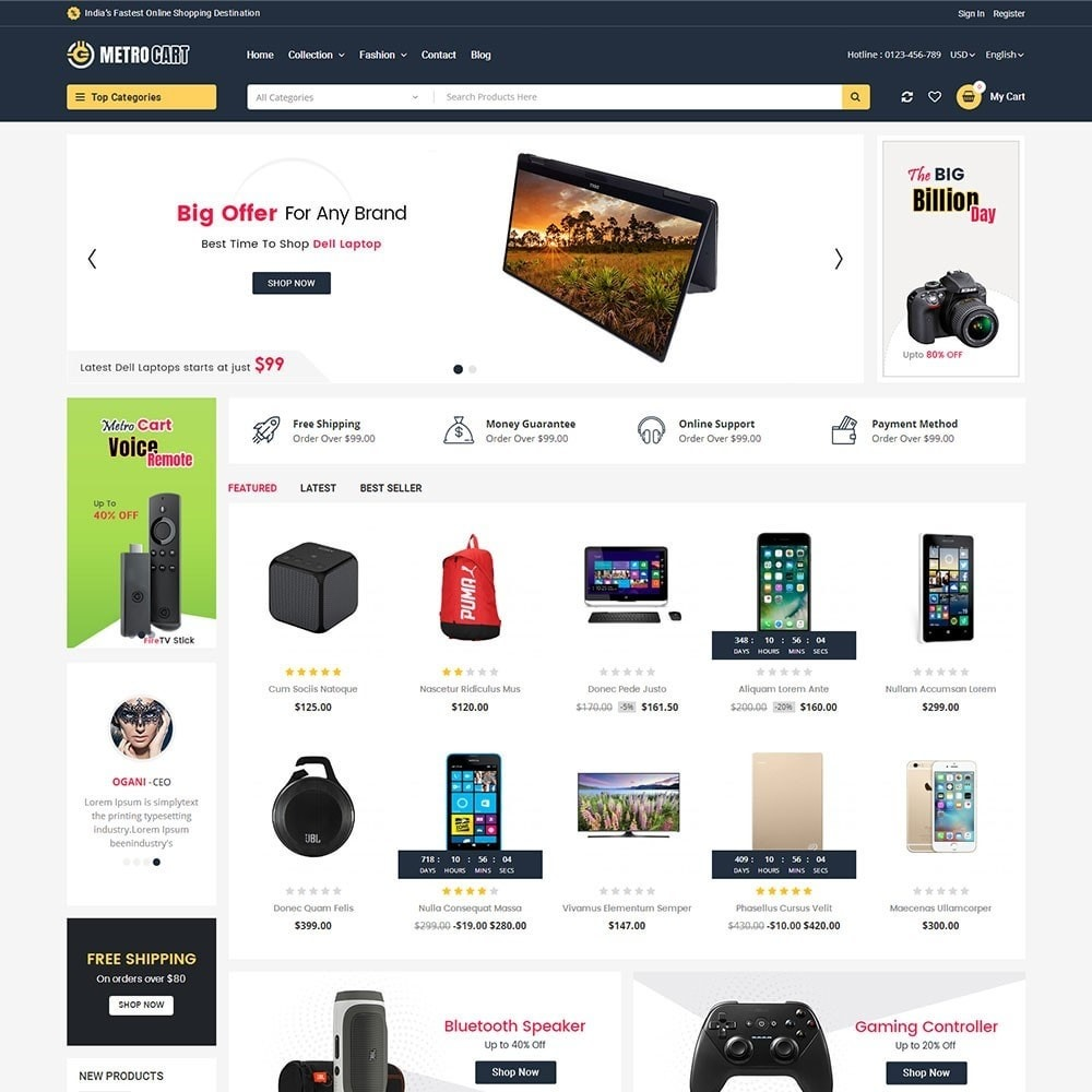 theme - Elettronica & High Tech - Metro Digital Store - 2