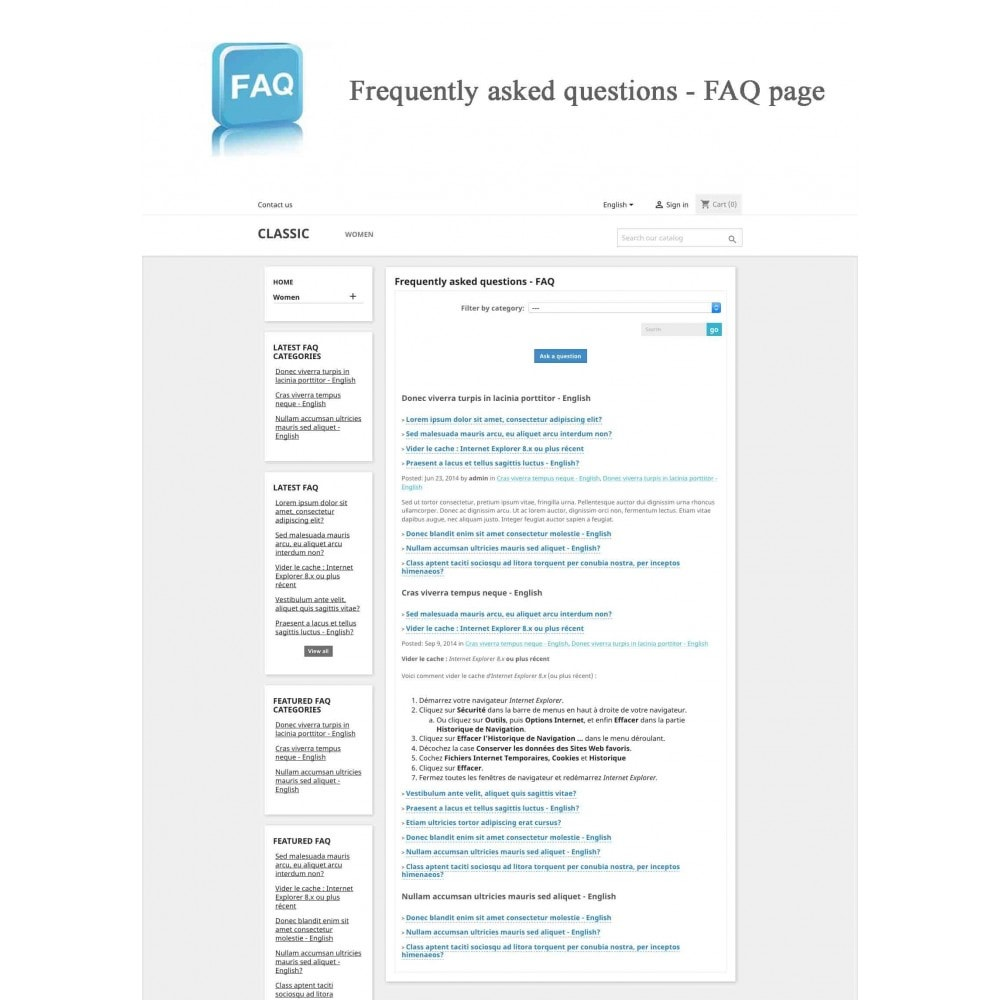 module - Preguntas Frecuentes - Frequently asked questions - FAQ - 10