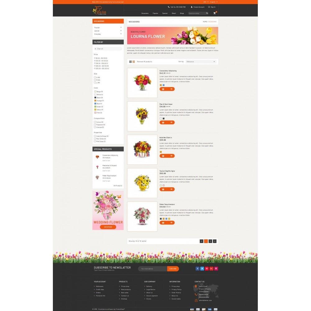theme - Presentes, Flores & Comemorações - Flora - Flower Store - 4