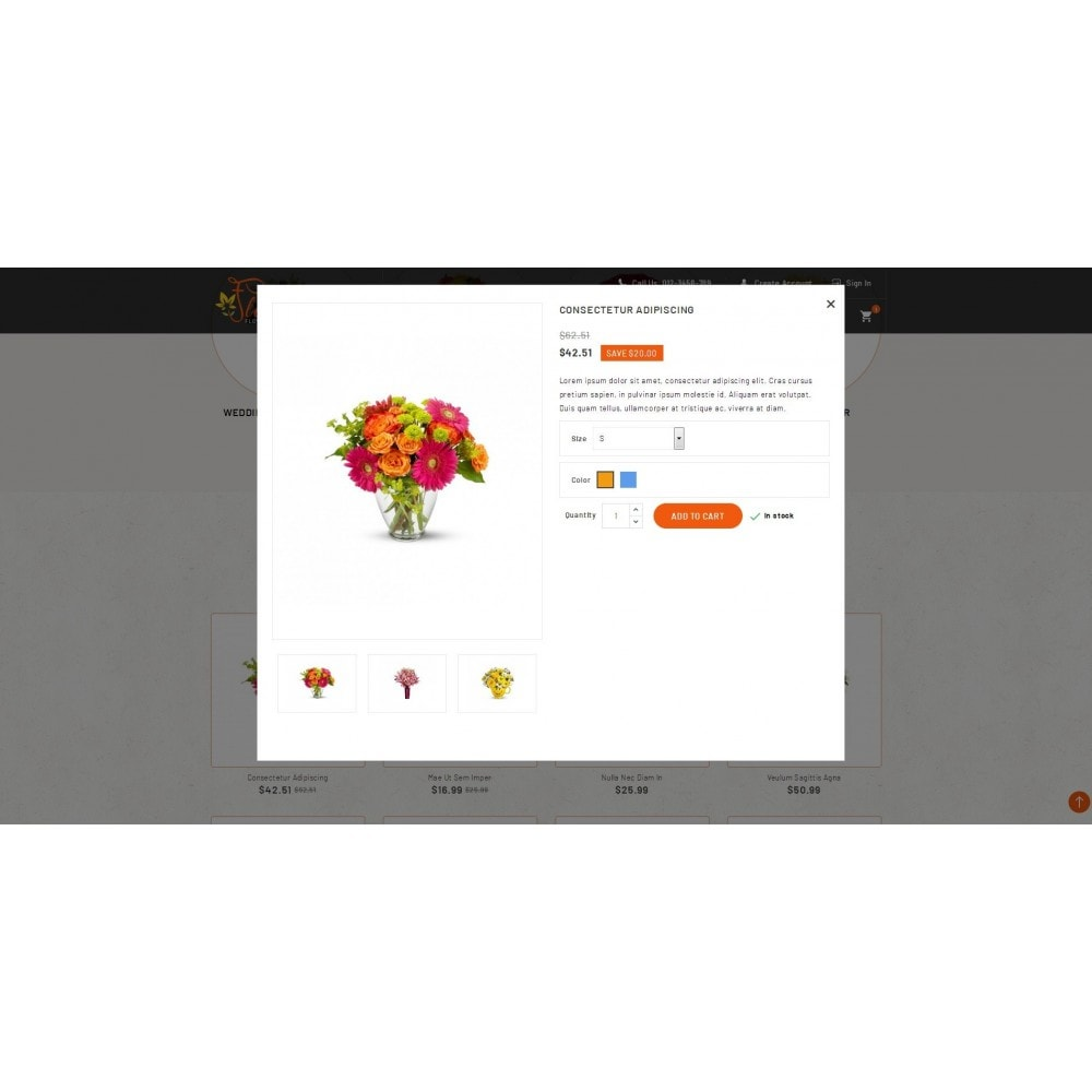theme - Regali, Fiori & Feste - Flora - Flower Store - 7