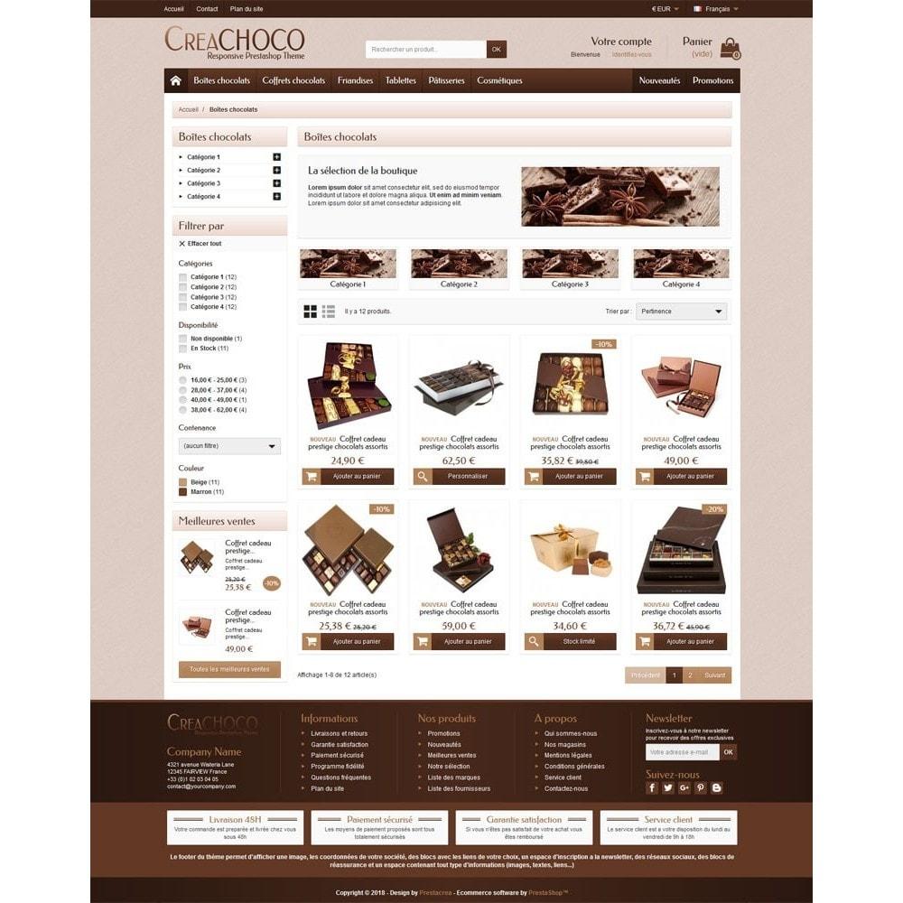 theme - Żywność & Restauracje - CreaChoco - 3