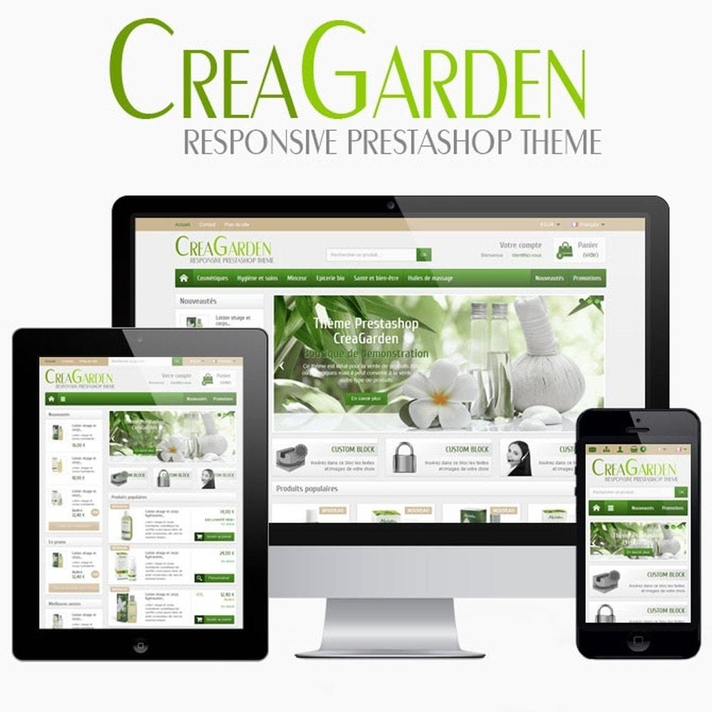 theme - Hogar y Jardín - CreaGarden - 1