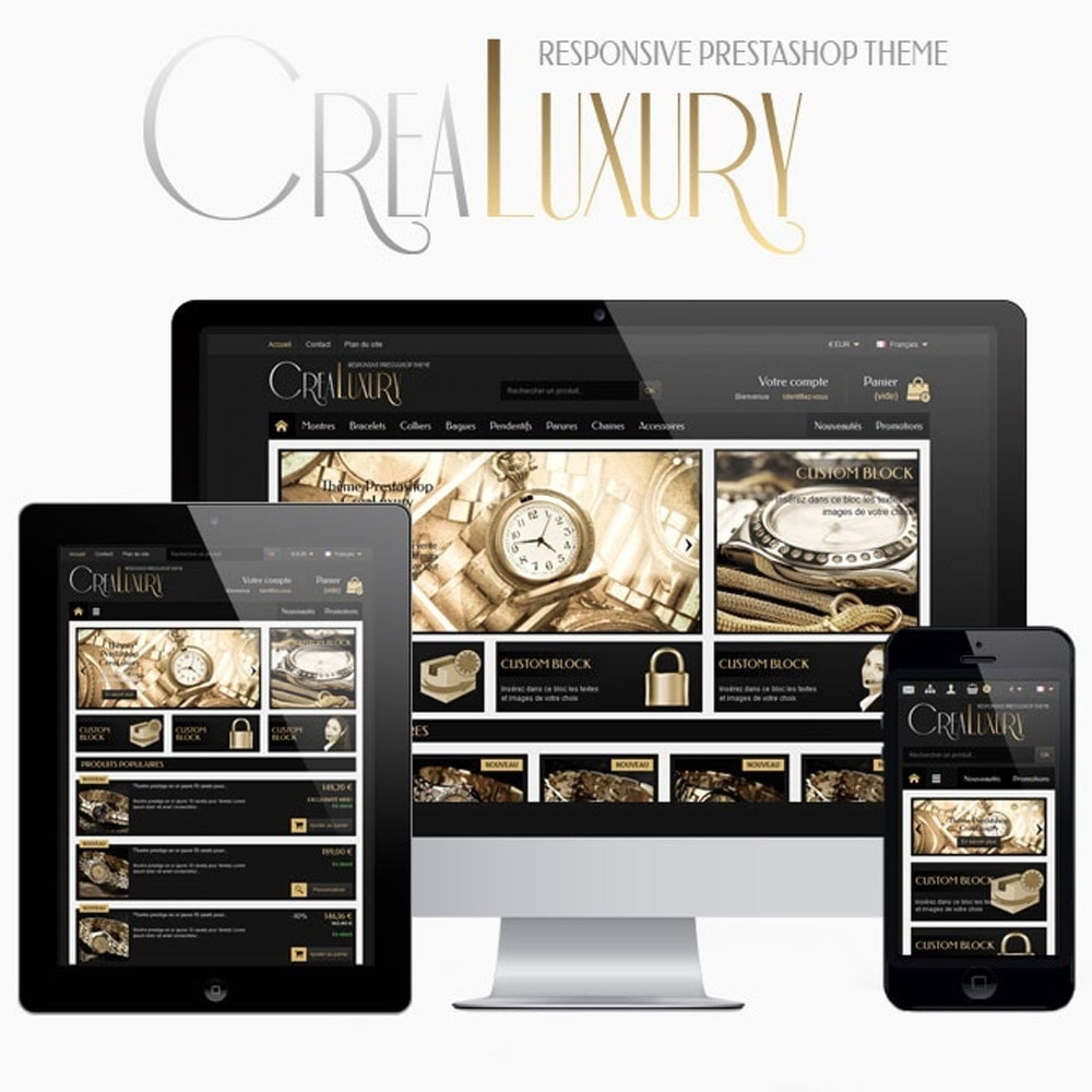 theme - Jewelry & Accessories - CreaLuxury - 1