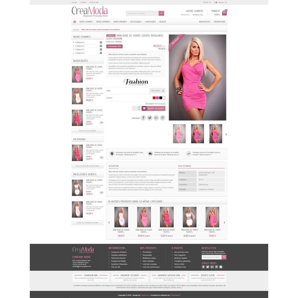 theme - Fashion & Shoes - CreaModa - 4