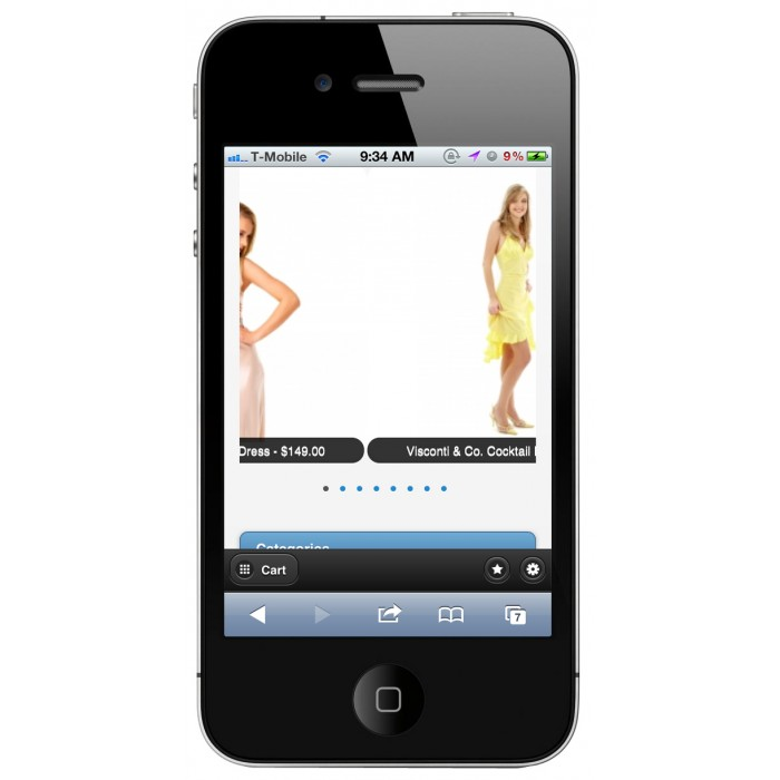 module - Dispositivos móviles - PrestaShop Mobile Tema 1.4 - 1