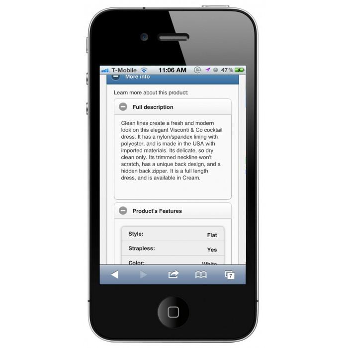 module - Mobile - PrestaShop Mobile Template - 6