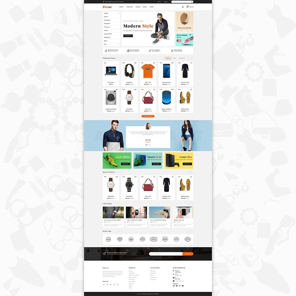 theme - Electronique & High Tech - Digitex - The Ecommerce Shop - 2