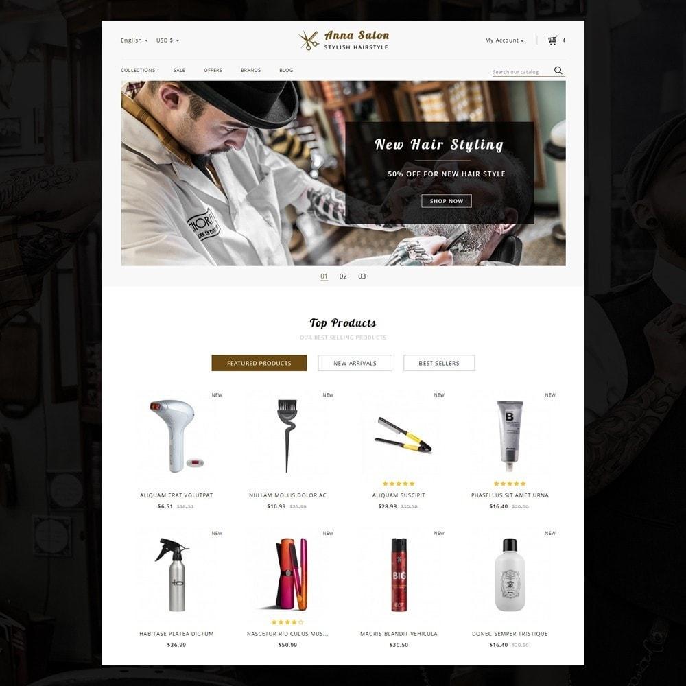 theme - Saúde & Beleza - Anna Salon Store - 2