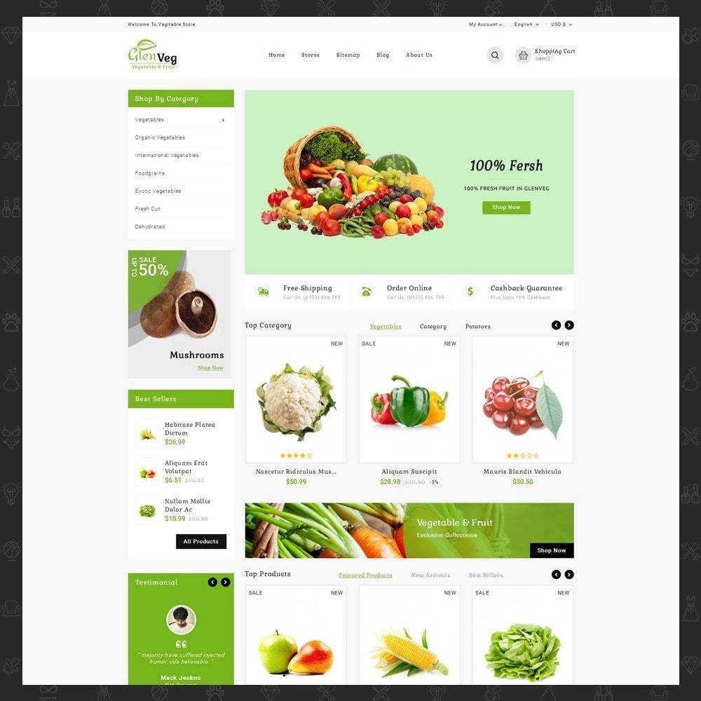 theme - Gastronomía y Restauración - Glen Veg Store - 2