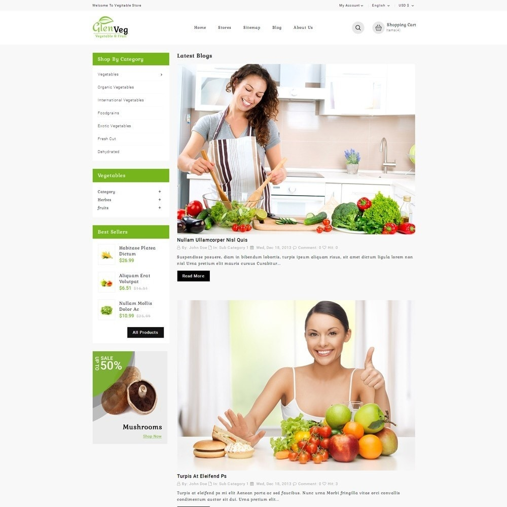 theme - Lebensmittel & Restaurants - Glen Veg Store - 6