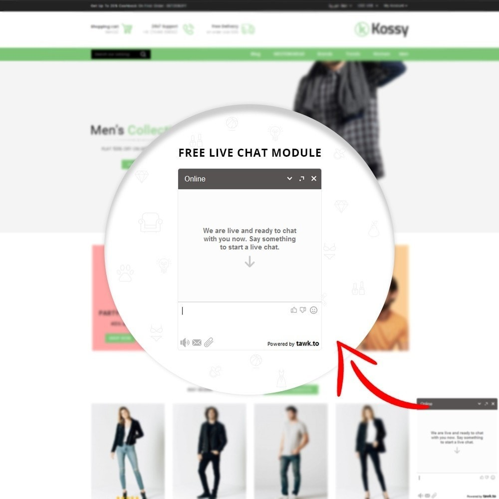 theme - Mode & Schuhe - Kossy - Fashion Store - 8