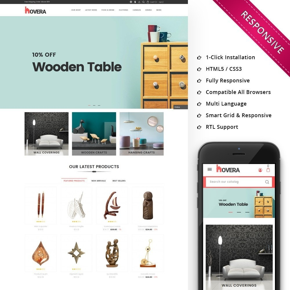 theme - Casa & Jardins - Hovera Home Store - 1
