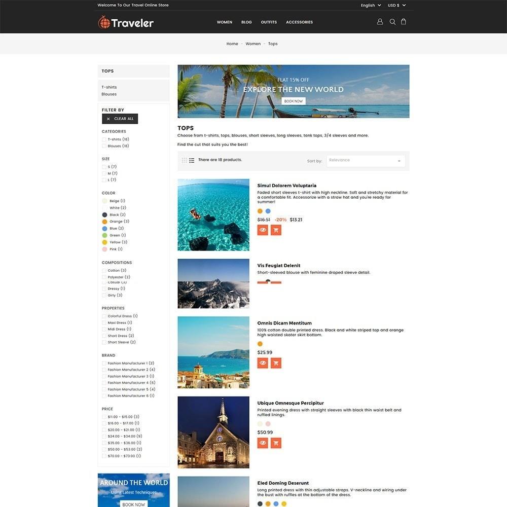 theme - Desporto, Actividades & Viagens - Travel Store - 4