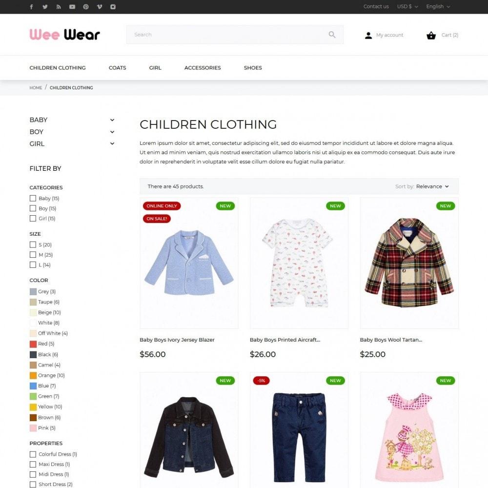 theme - Zabawki & Artykuły dziecięce - Wee Wear - 5