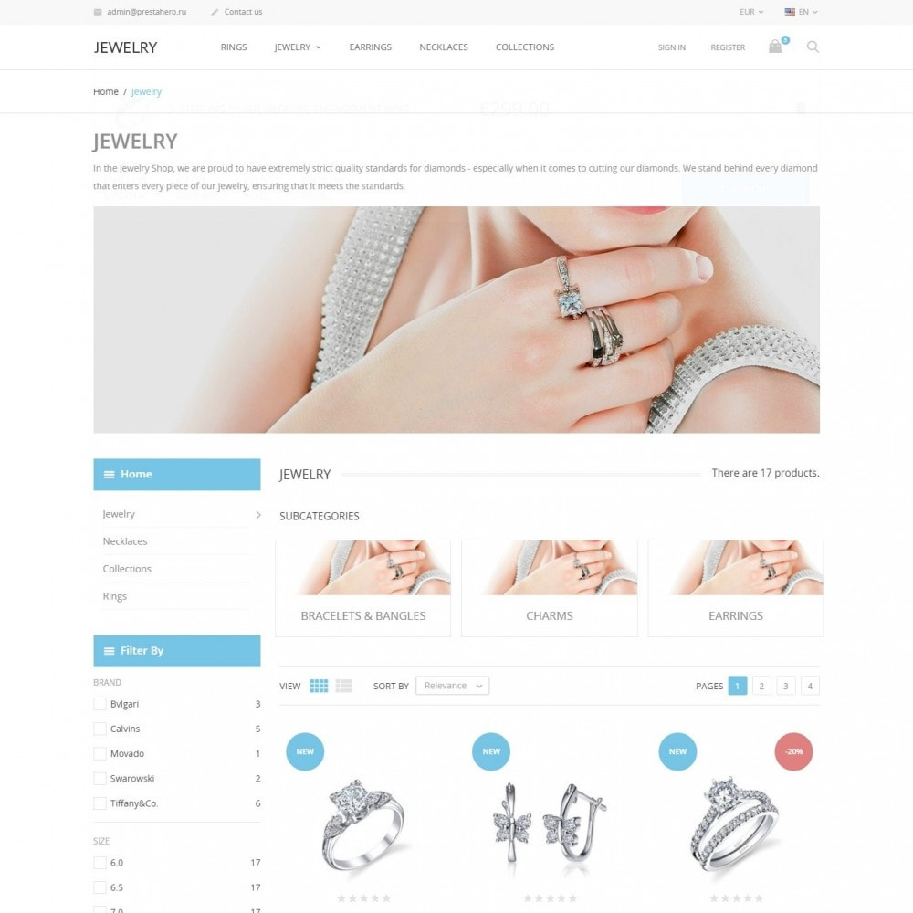 theme - Jewelry & Accessories - Jewelry - Jewelry Store - 4