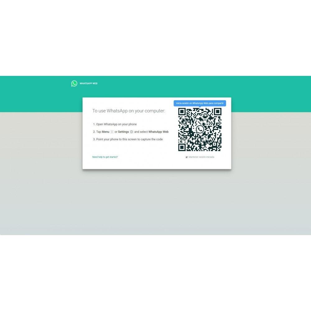 module - Asistencia & Chat online - Soporte por Chat con WhatsAPP (WhatsAPP Business) - 2