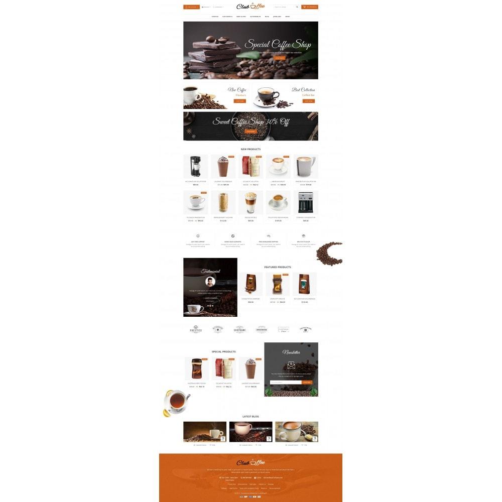 theme - Eten & Restaurant - Club Coffee Shop - 2