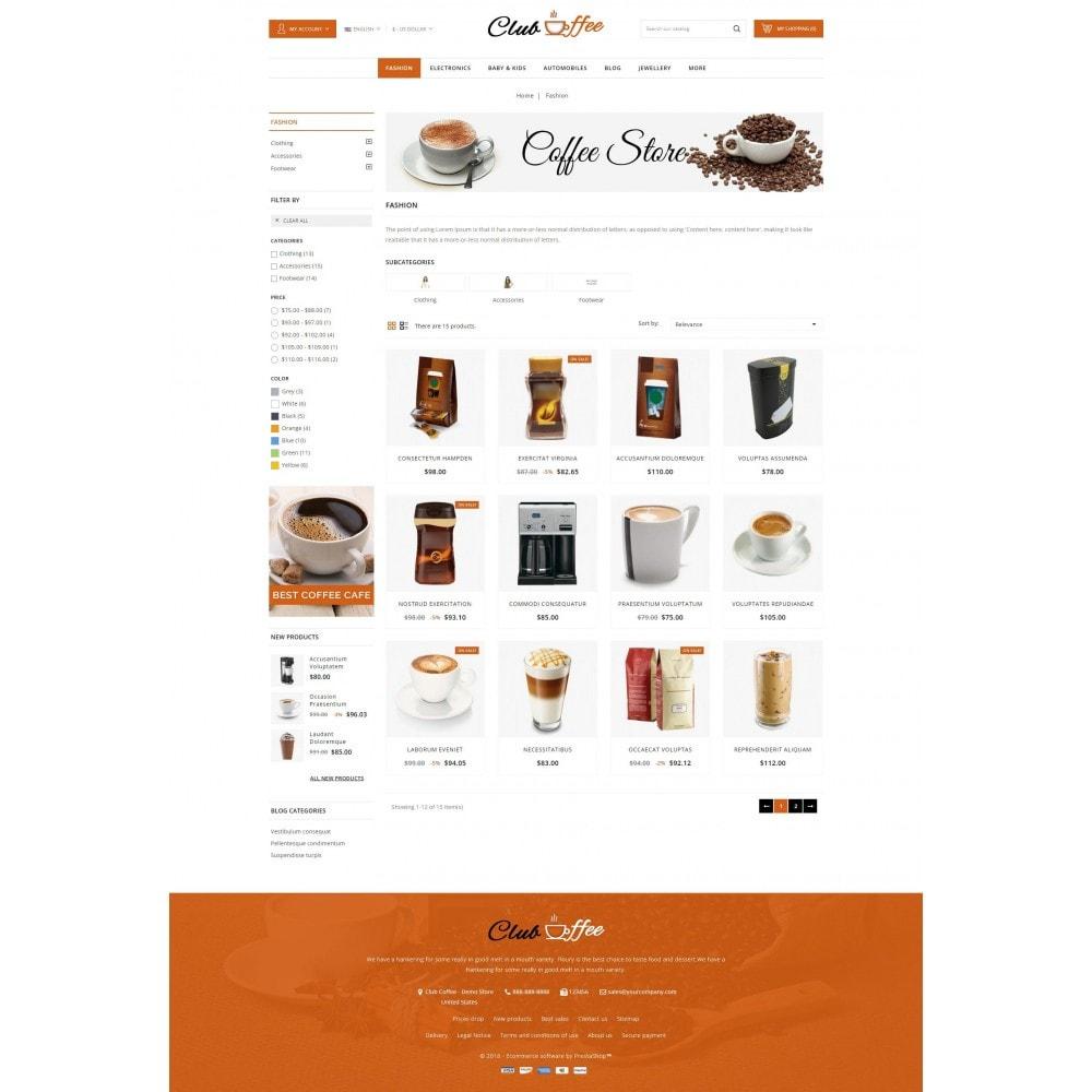 theme - Eten & Restaurant - Club Coffee Shop - 3