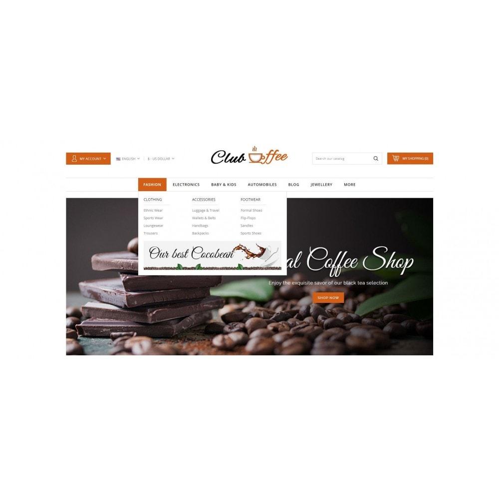 theme - Eten & Restaurant - Club Coffee Shop - 6