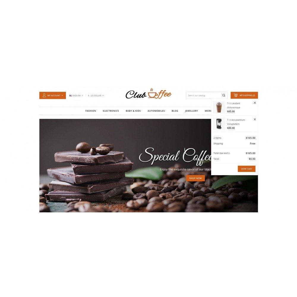 theme - Eten & Restaurant - Club Coffee Shop - 8
